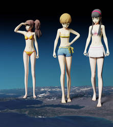 Persona 4 Girls Unwittingly Grow into Goddesses