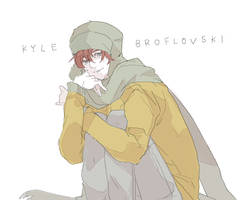 South Park kyle by jingerial