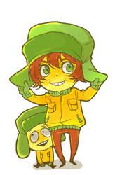 Chibi Kyle by jingerial