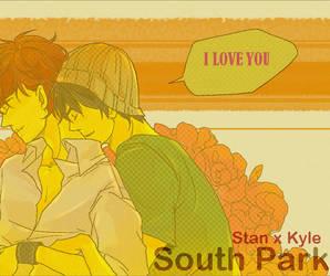 south park : kiriban 1000 by jingerial