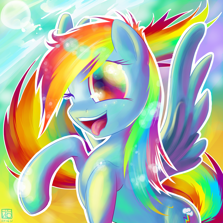 Rainbow Dash by Ininko