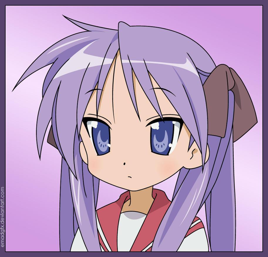 lucky star kagami chibi wwwpixsharkcom images