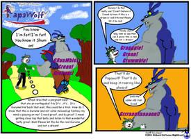 Papawolf comic 3 by NightCrestComics