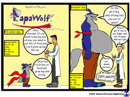 Papawolf comic 7 by NightCrestComics