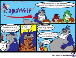 Papawolf comic 22 by NightCrestComics