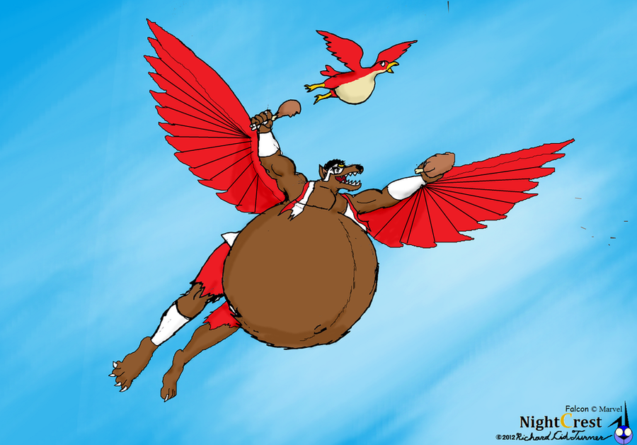 Big Bad fatty were: Falcon by NightCrestComics