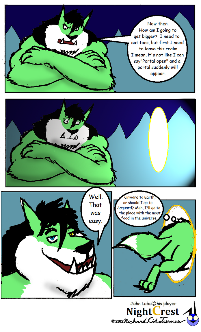 The John lobo that ate the moon 9 by NightCrestComics