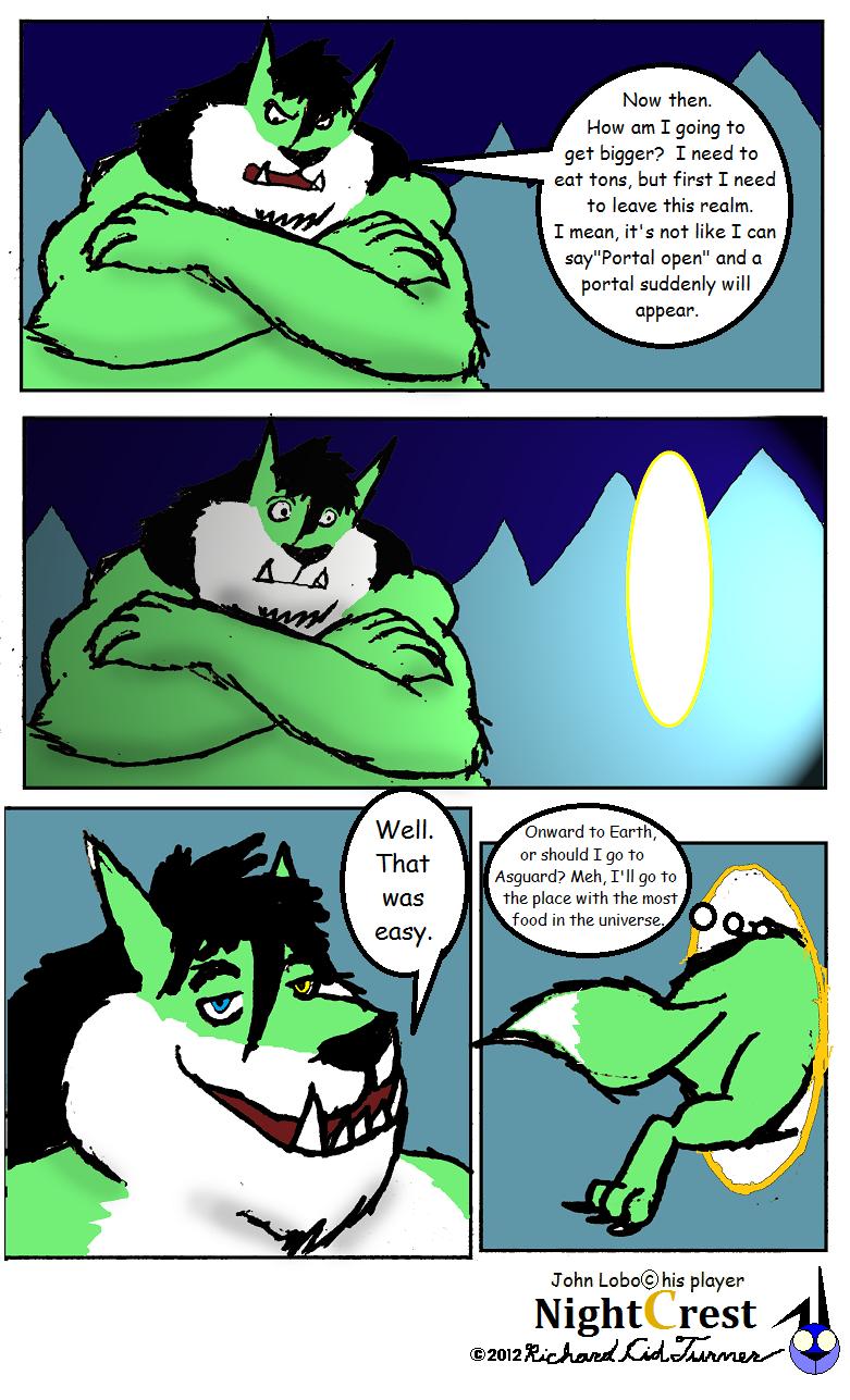 The John lobo that ate the moon 9 by NightCrestComics