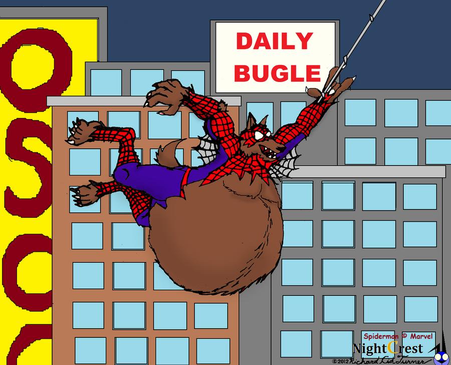 Big Bad fatty were: Spiderman by NightCrestComics