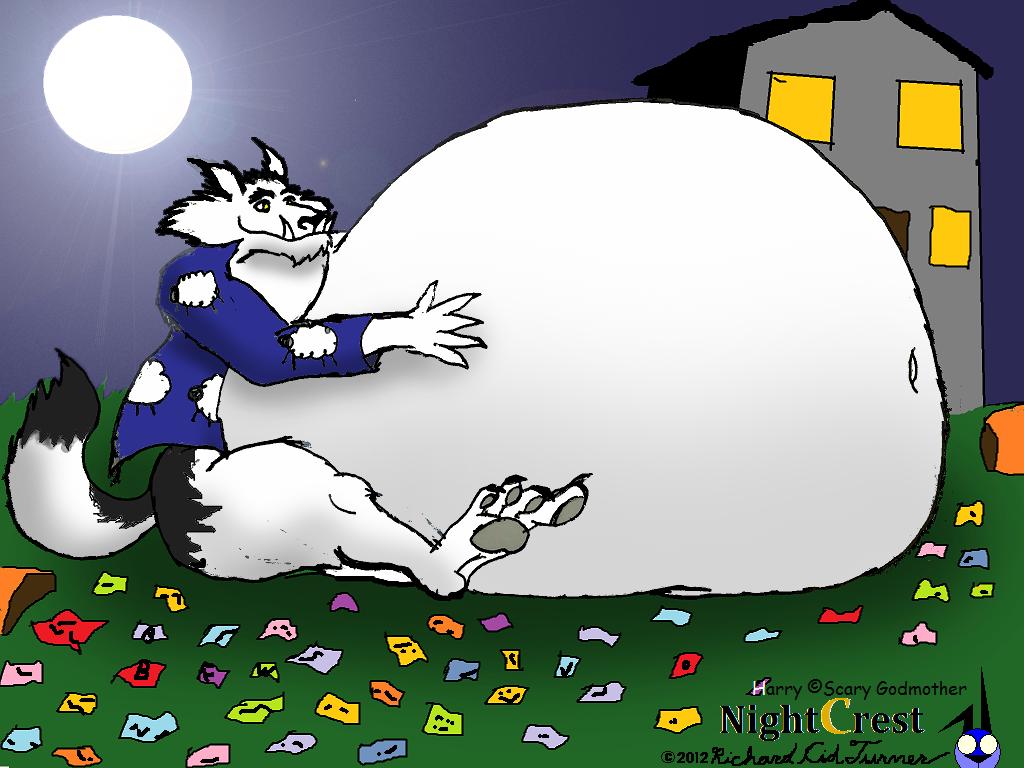 Big Bad Fatty Were: Harry By NightCrestComics On DeviantArt