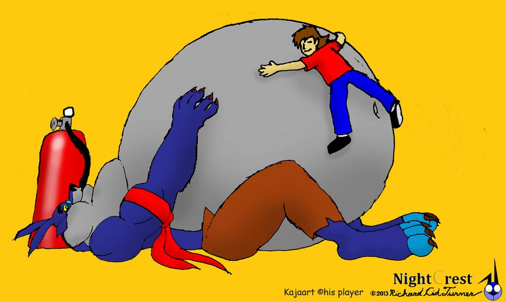 Gurume Inflated for hugs by NightCrestComics