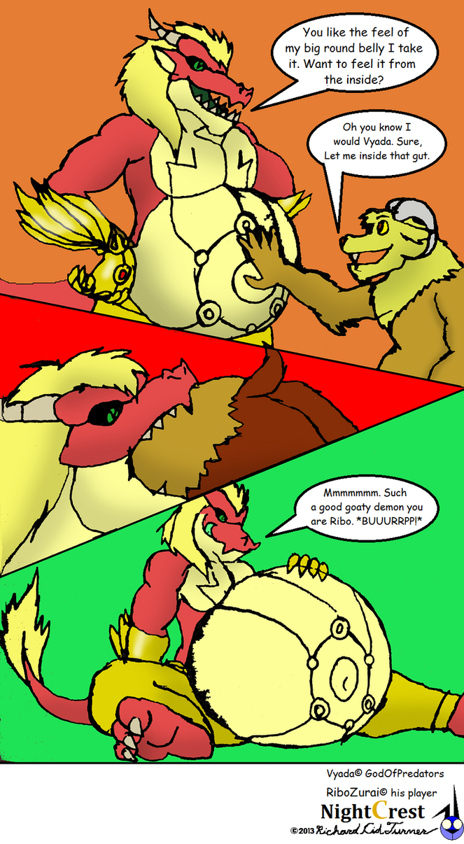 The Vore God's blessing by NightCrestComics