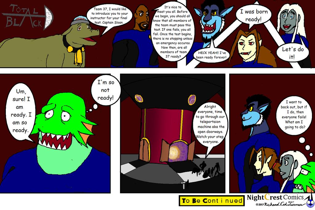 Total Black D comic 31 by NightCrestComics