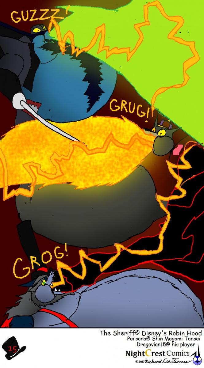 Fat Em Thieves 15 by NightCrestComics