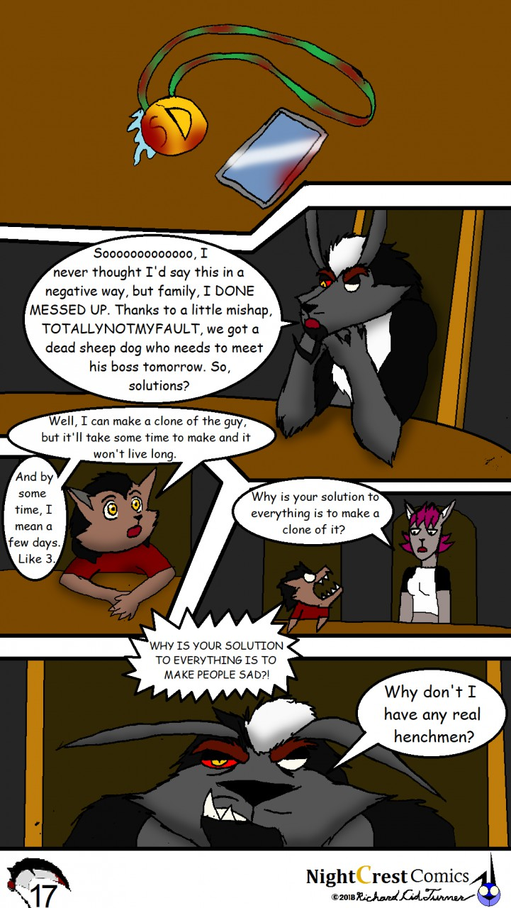 Great Evil #3 page 17