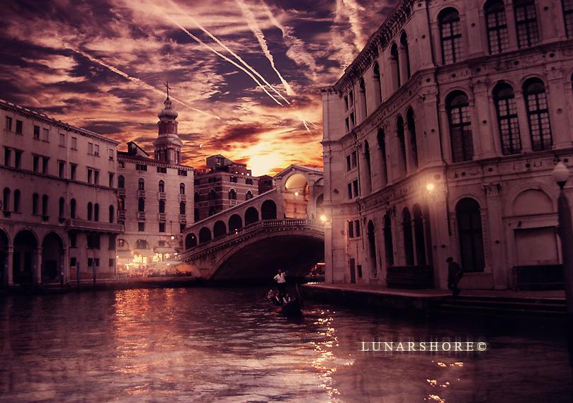 Venezia al Crepuscolo by LunarShore