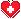 Red Cross Heart Bullet Point by LunaShoujo