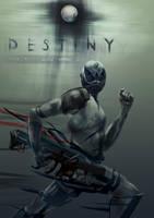Bungie's 'Destiny', a poster design by Zyryphocastria