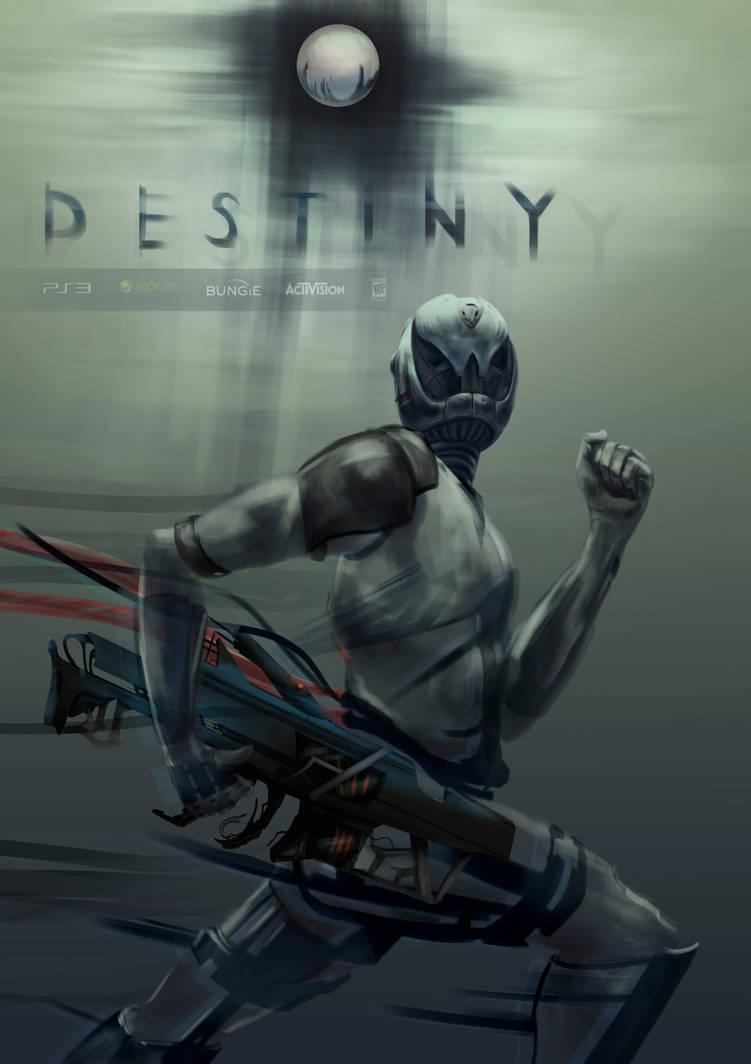 Bungie's 'Destiny', a poster design
