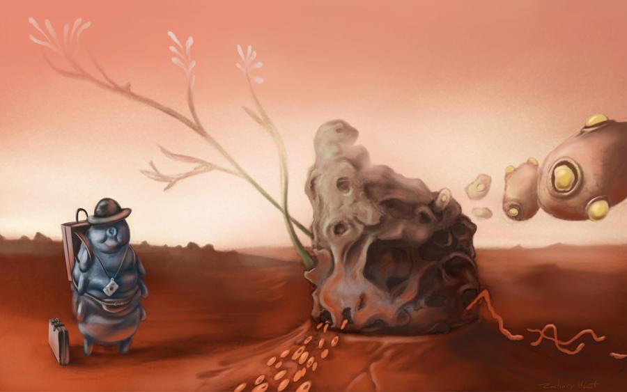 Trip to Mars by Zyryphocastria on deviantART