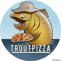 Logo Design: Trout Pizza