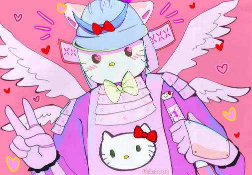 Hello Kitty Samurai