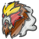 Pokemon Badge - Entei by superstar789
