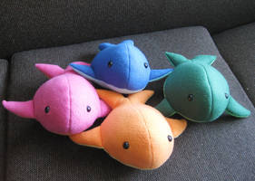 Colorful Whales