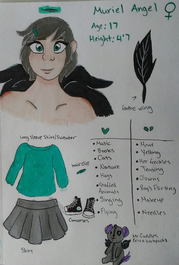 Muriel Angel Bio ~ by LittleMissCurly