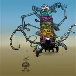 WIP: Machine Spirits by GreyAreaRK1
