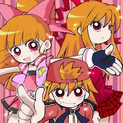 Power Puff Girls Z by Kiyose