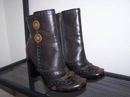 Reimagined Steampunk Boots by SteamPunkJennie