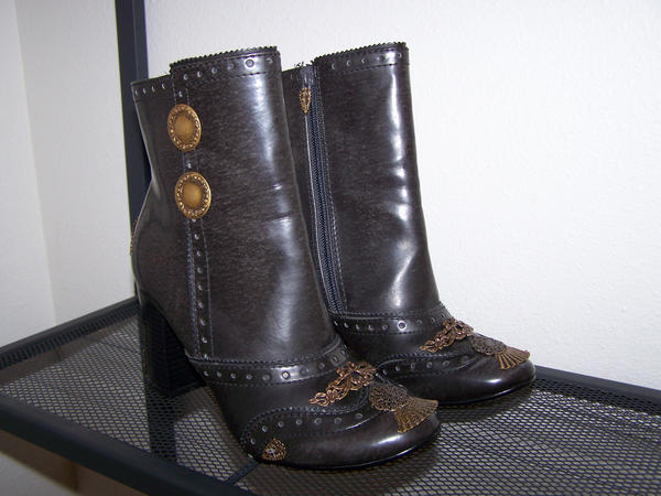 Reimagined Steampunk Boots by SteamPunkJennie