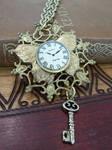 Steampunk Necklace Key