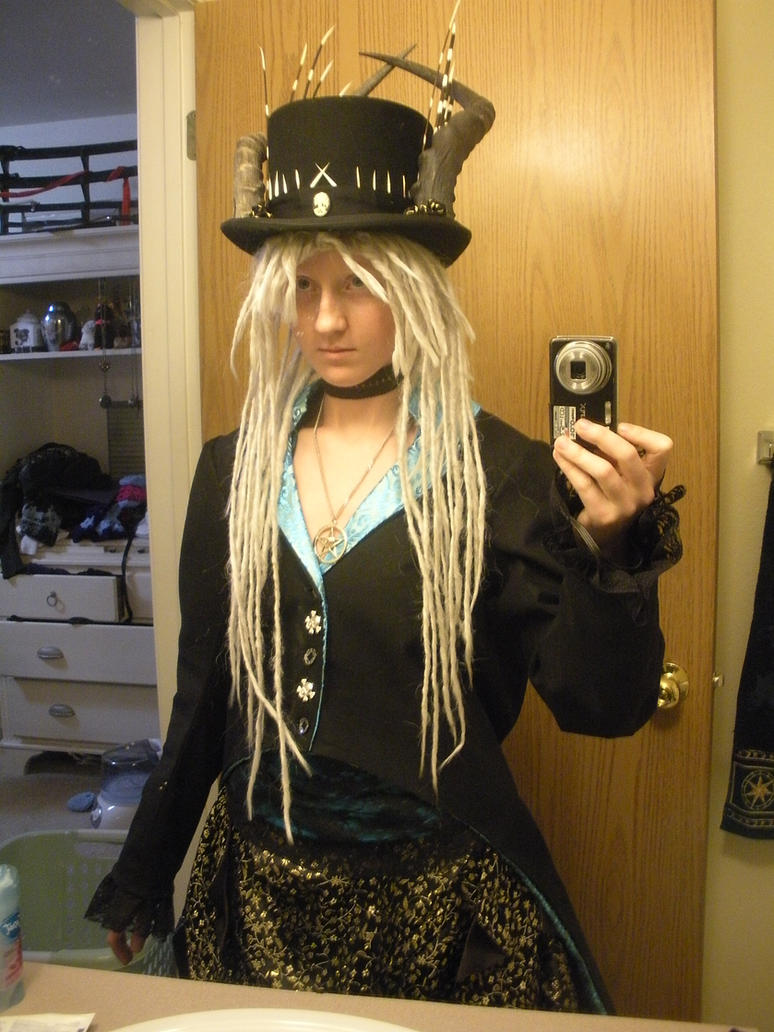 Steampunk witch doctor (without make-up) by Seras-Loves-Master on ...
