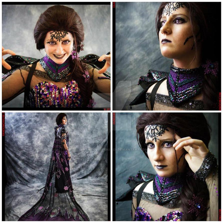 My Dark Elsa college by Seras-Loves-Master