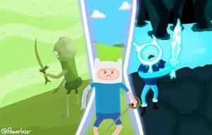 Three Finns- Adventure Time by Powerlazer