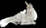 Unicorn Laying