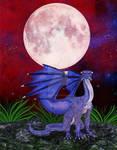 Dragon Red Sky