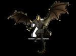 Demon Dragon in Green