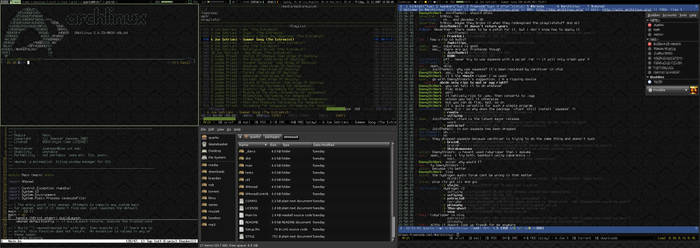 Arch linux and XMonad WM