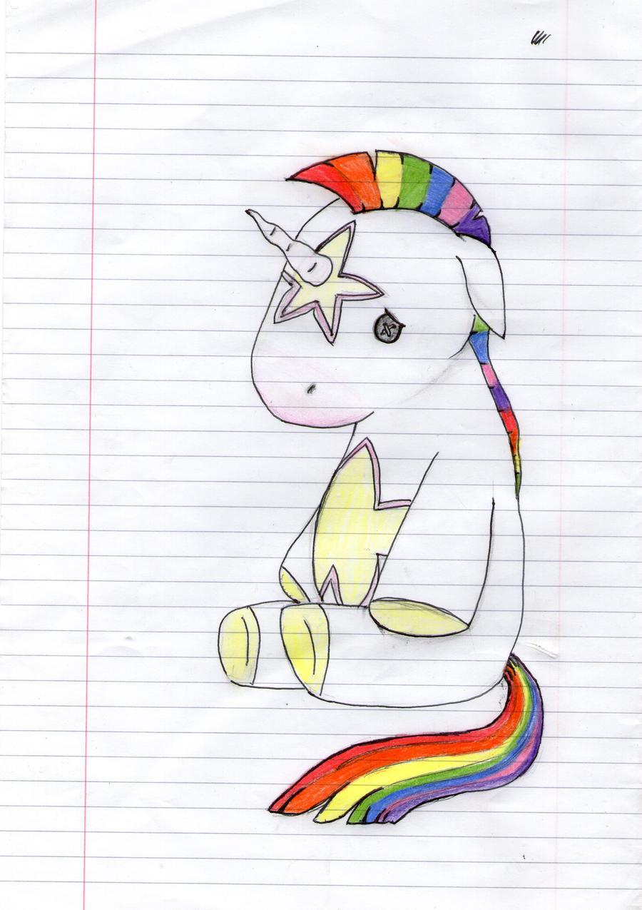 Baby Rainbow Unicorn by ShannyIsAPanda on DeviantArt