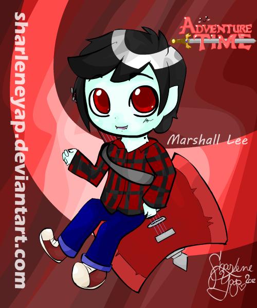 Marshall Lee by sharleneyap