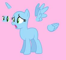 Shocked Pony Base by Rain-Approves