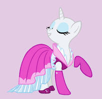 Pony in a Pretty Dress Base by Rain-Approves