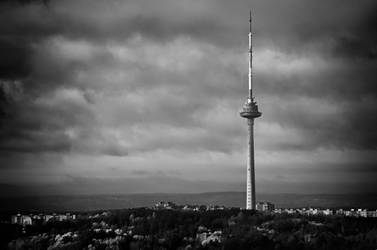 The Tower BW