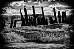 Storm Waves in Silver by druteika