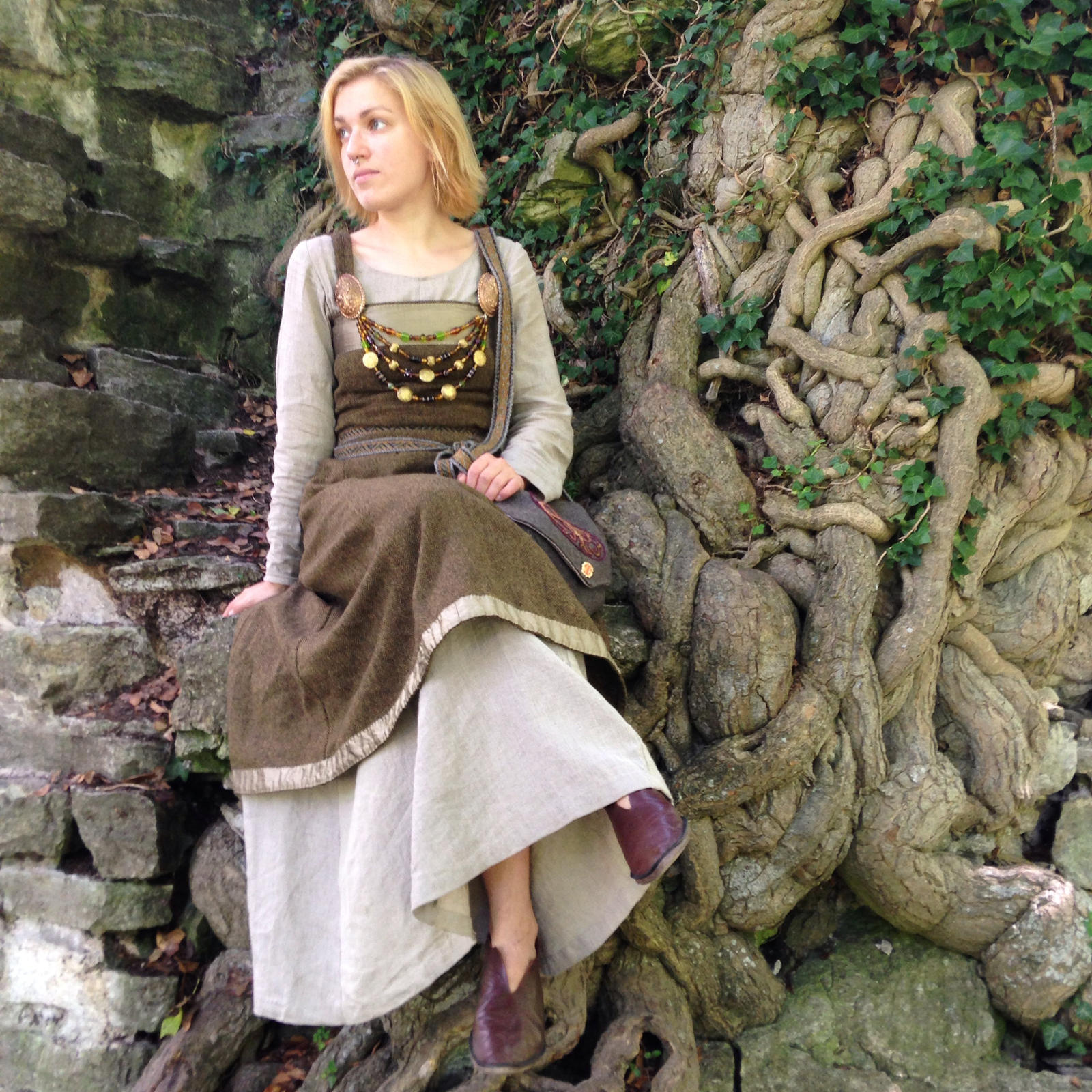 how to make a viking dress