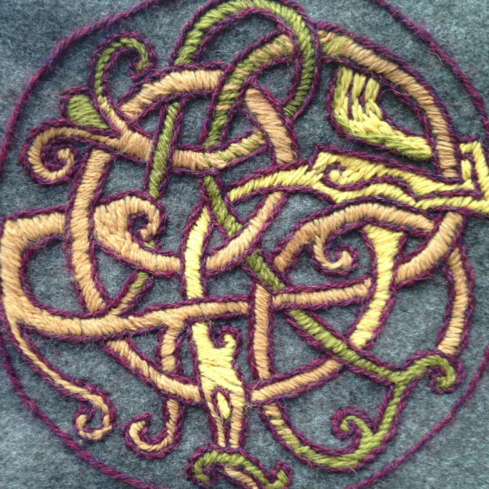 Viking Embroidery By Halloumi On Deviantart