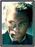 James Bond Portrait by jvetoe